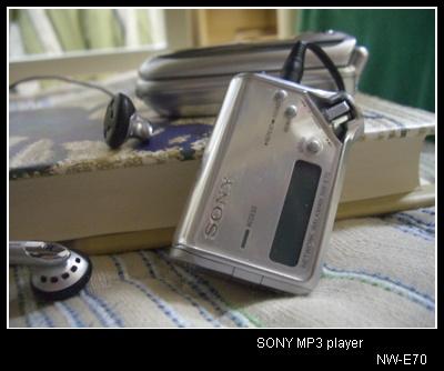 소니 NW-E70 MP3 플레이어