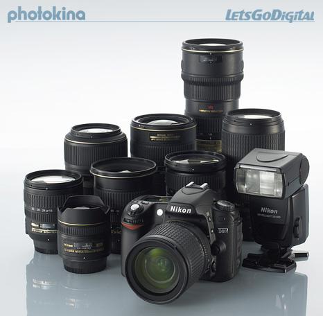 D80과 렌즈들